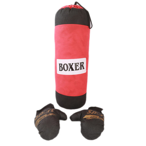 Kick Boxing Bag For Kids - Red