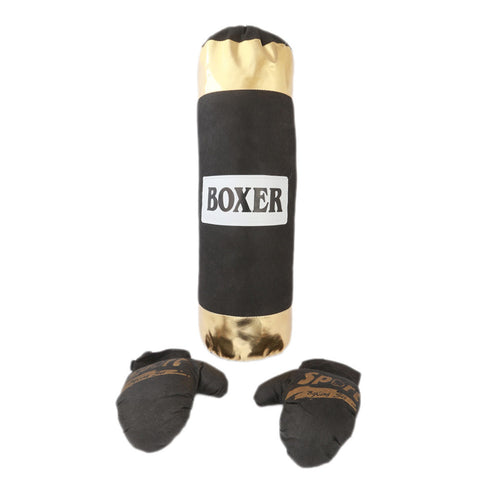 Kick Boxing Bag For Kids - Black