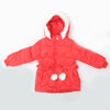 Girls Hooded Jacket - Dark Pink