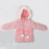 Girls Hooded Jacket - Light Pink