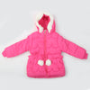 Girls Hooded Jacket - Pink