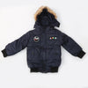 Boys Hooded Jacket - Navy Blue
