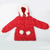 Girls Hooded Jacket - Red