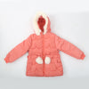 Girls Hooded Jacket - Peach