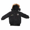 Boys Hooded Jacket - Black