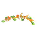 Dinosaur Sets 8 Pcs - Yellow - test-store-for-chase-value