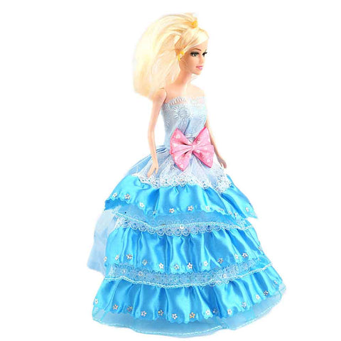Princess Wedding Doll - Blue - test-store-for-chase-value