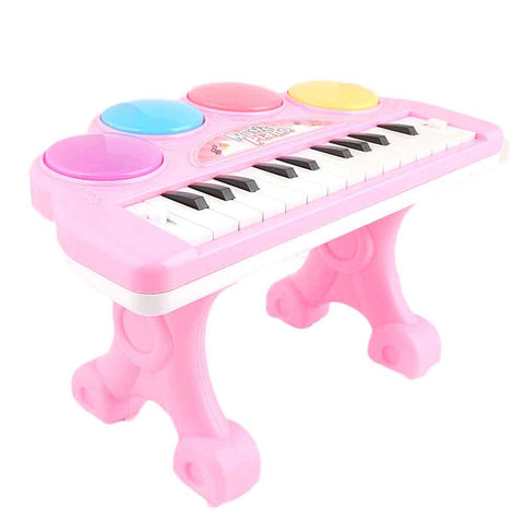 Music Piano Toy - Pink - test-store-for-chase-value