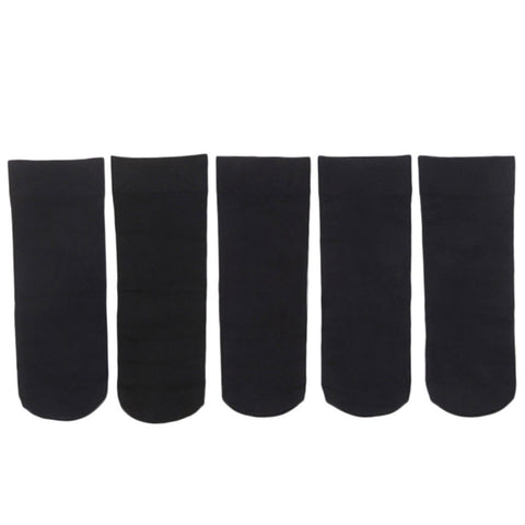 Women's Socks 5 Pcs - Black