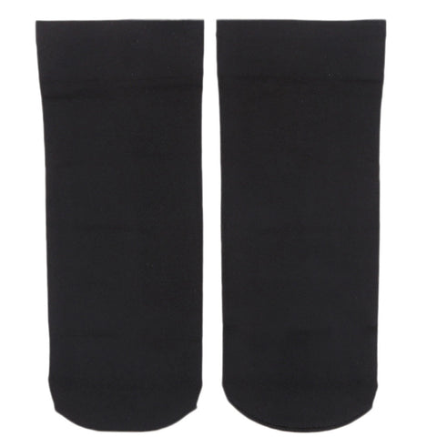 Women's Plain Socks - Black