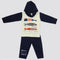 Boys Full Sleeves Polar Suit 8853 - Navy Blue