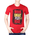 Men's Printed T-Shirt - Red - test-store-for-chase-value