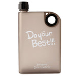 Notebook Water Bottle 380ml - Black