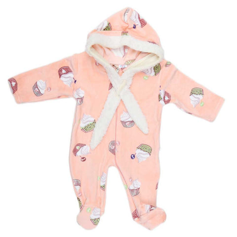 Newborn Boys Romper - Peach