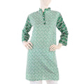 Women's 14th August Kurti - Green