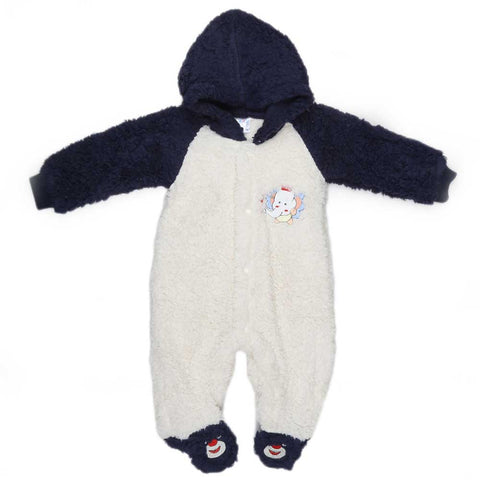 Newborn Romper - Navy Blue