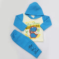 Boys Full Sleeves Polar Suit 8851 - Blue
