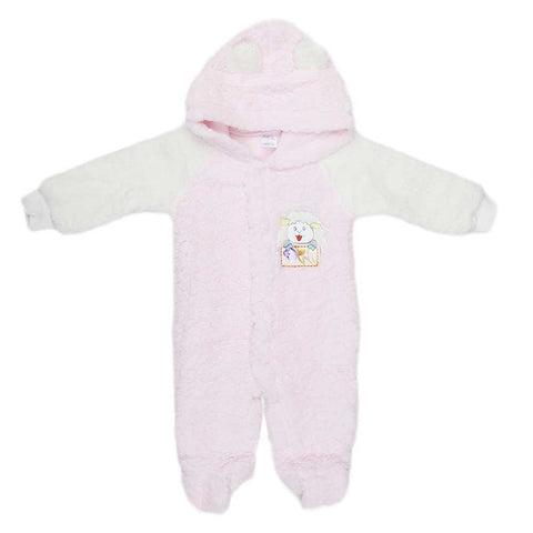 Newborn Romper - Light Pink