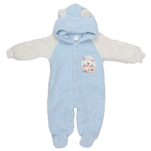 Newborn Romper - Blue