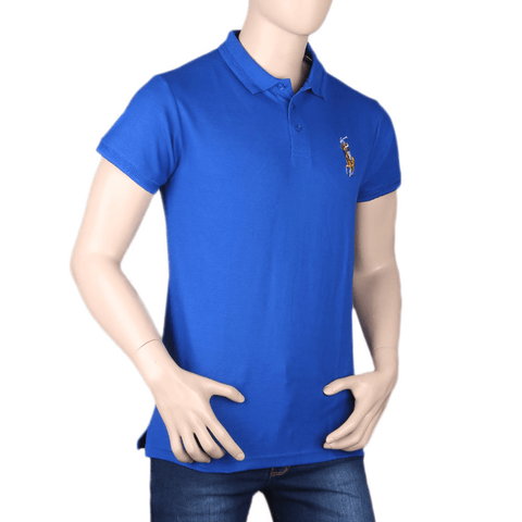 Men's Half Sleeves T-Shirt - Royal Blue
