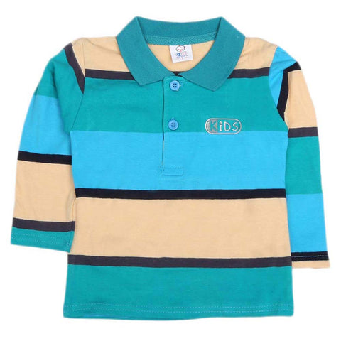 Boys Full Sleeves T-Shirt  - Multi