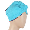 Women's Bath Towel Cap 23x9cm - Blue
