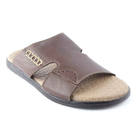 Men's Slippers (625) - Brown
