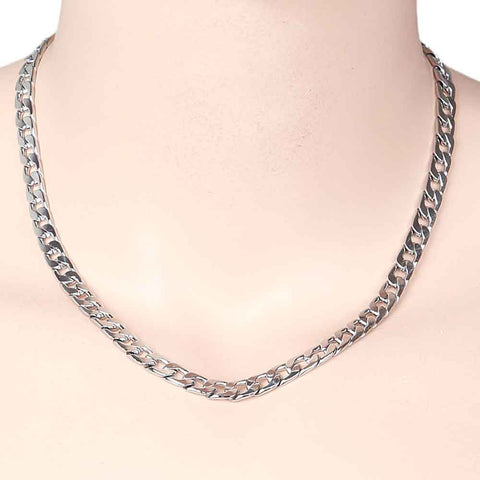 Men's Fancy Chain - Silver