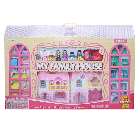 Castle House For Children - Pink