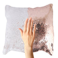 Fancy Shimmer Cushion Pillow - Copper - test-store-for-chase-value