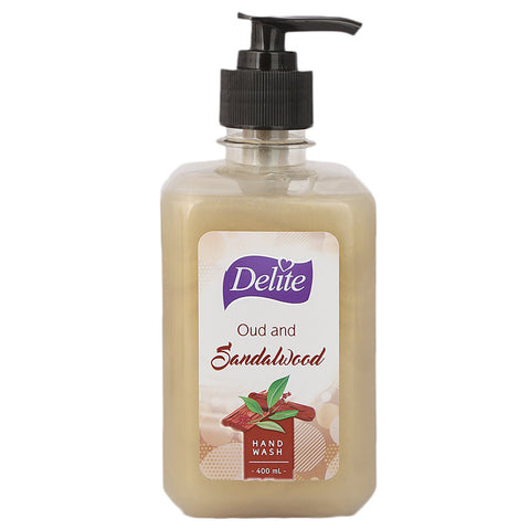 Delite Hand Wash Oud and Sandal Wood - 400 ML