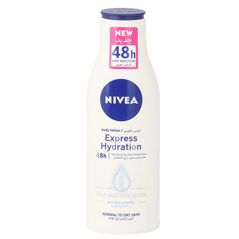 Nivea Express Hydration Body Lotion 250 ml - Normal To Dry Skin