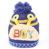 Boys Woolen Cap - Blue