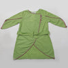 Girls Plain Kurti - Green