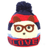 Boys Woolen Cap - Navy Blue