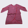 Girls Plain Kurti - Purple