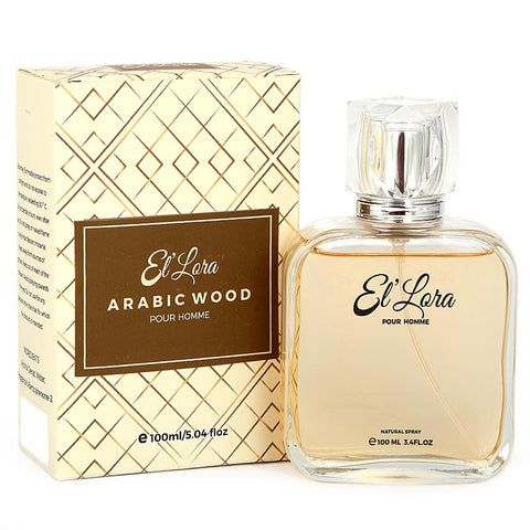 El'Lora Arabic Wood Perfume For Men - 100 ML