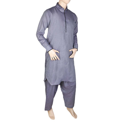 Eminent Kameez Shalwar For Men -Fancy- Purple