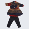 Girls Full Sleeves Suit - Multi