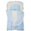 Newborn Sleeping Bag With Net - Light Blue