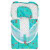 Newborn Sleeping Bag With Net - Cyan