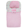 Newborn Sleeping Bag With Pillow - Pink