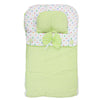 Newborn Sleeping Bag With Pillow - Green