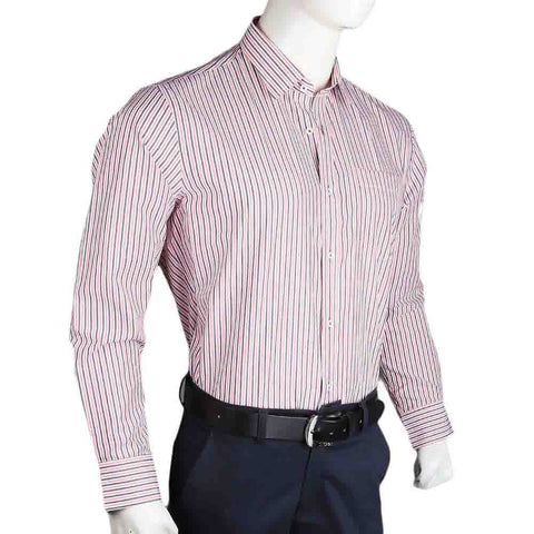 Men's Business Casual Shirt - Peach