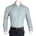 Men's Business Casual Shirt - Green