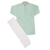 Boys Kurta Shalwar - Sea Green
