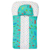 Newborn Sleeping Bag With Pillow - Cyan