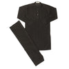 Boys Kurta Shalwar - Black