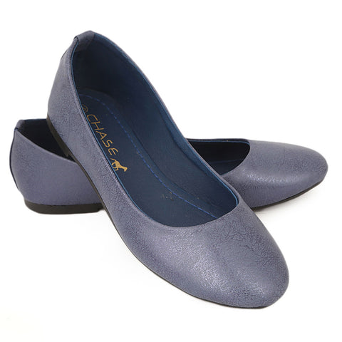 Women's Fancy Pumps - Blue