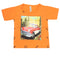 Boys Half Sleeves T-Shirt - Orange